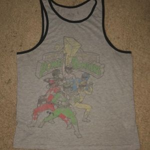 Mighty Morphing Power rangers tank top